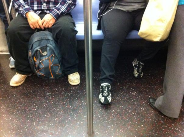 New York City Subway Commuters Tale (Photo)